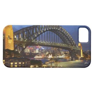 Puente de puerto de Sydney y hotel de Hyatt Sydney iPhone 5 Case-Mate Protector