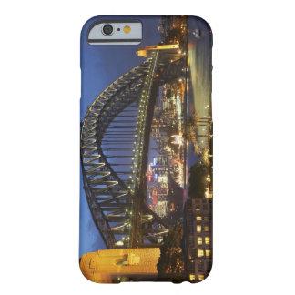 Puente de puerto de Sydney y hotel de Hyatt Sydney Funda De iPhone 6 Barely There