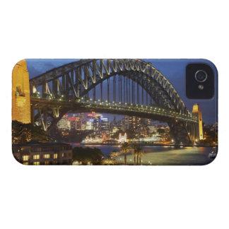 Puente de puerto de Sydney y hotel de Hyatt Sydney iPhone 4 Case-Mate Protector