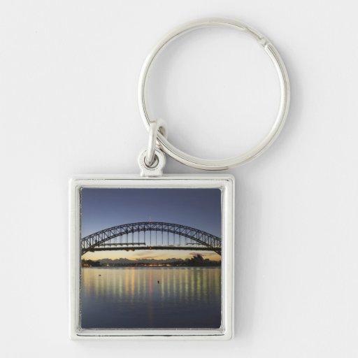 Puente de puerto de Sydney y teatro de la ópera de Llavero Personalizado