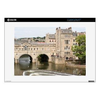 Puente de Pulteney, río de Avon, baño, Inglaterra Portátil 38,1cm Skins