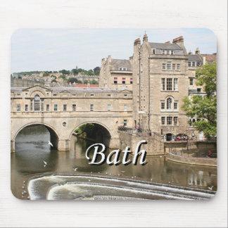 Puente de Pulteney, río de Avon, baño, Inglaterra Mousepad