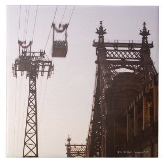 Puente de Queensboro Azulejo Cuadrado Grande
