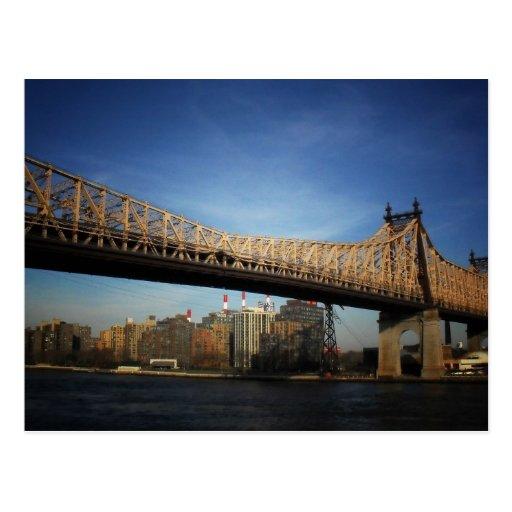 Puente de Queensboro, New York City Postales