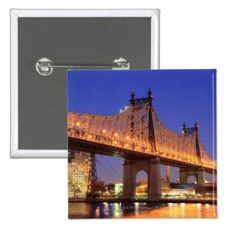 Puente de Queensboro y el East River Pins