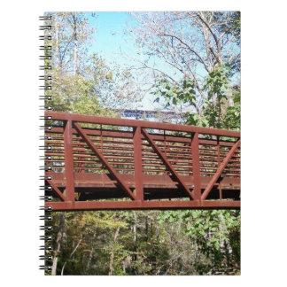 Puente de rastro libreta espiral