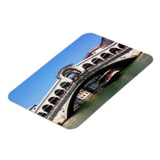 Puente de Rialto en Venecia Iman De Vinilo
