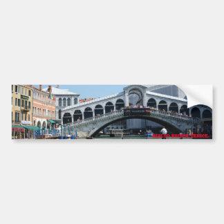 Puente de Rialto, Venecia Pegatina Para Auto