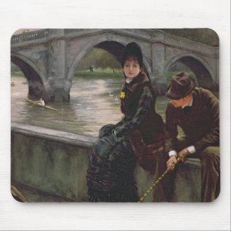 Puente de Richmond, c.1878 Mouse Pad