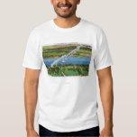 Puente de Rip van Winkle sobre el río Hudson Remeras