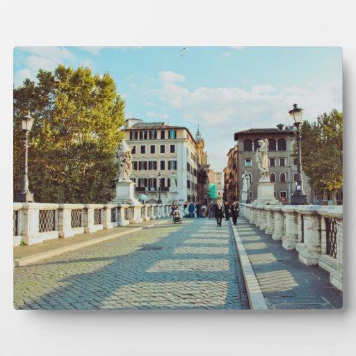 Puente de Roma Placa Para Mostrar