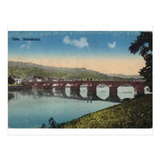 Puente de Romerbrucke del Trier Tarjeta Postal
