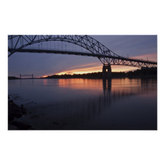 Puente de Sagamor sobre el canal de Cape Cod, 2 Posters