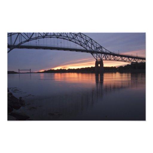 Puente de Sagamor sobre el canal de Cape Cod, Impresiones Fotograficas