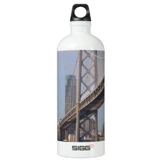 Puente de San Francisco Bay en una mañana soleada Botella De Agua