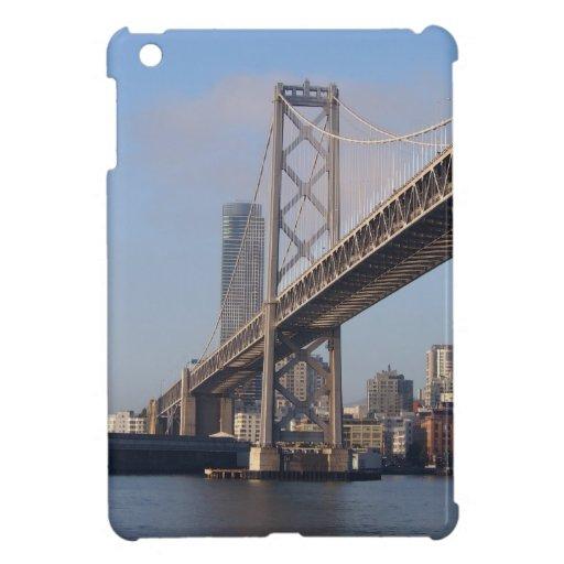 Puente de San Francisco Bay en una mañana soleada iPad Mini Cárcasas
