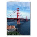 Puente de San Francisco Bay Tarjeta