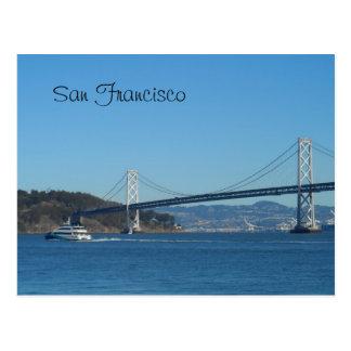 Puente de San Francisco Bay Tarjetas Postales