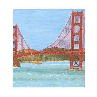 Puente de San Francisco Blocs De Papel