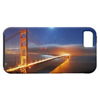Puente de San Francisco por noche iPhone 5 Fundas