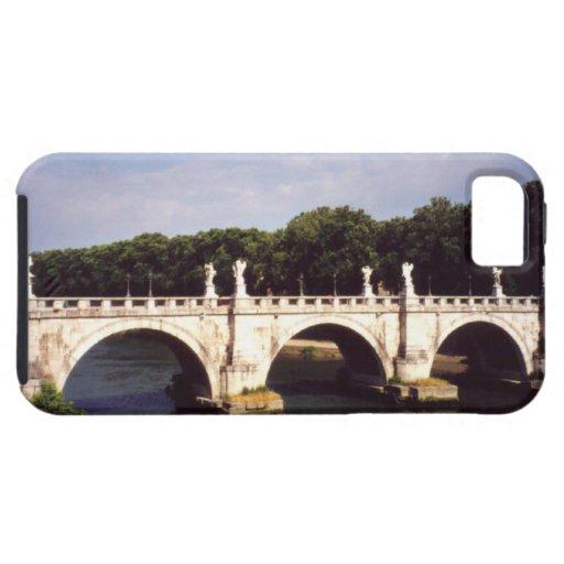 Puente de Sant'Angelo en Roma, Italia iPhone 5 Funda