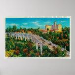 Puente de Seco del Arroyo, puente de la calle de C Poster