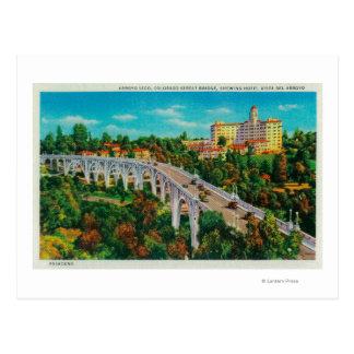 Puente de Seco del Arroyo, puente de la calle de Postales