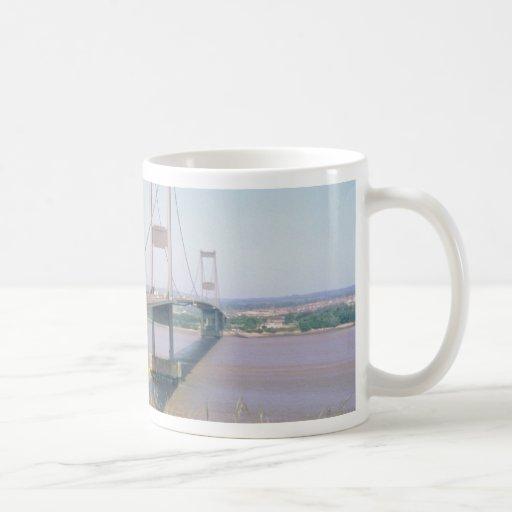 Puente de Severn Tazas De Café