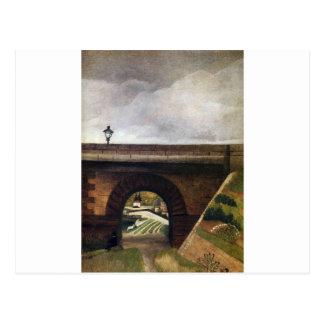 Puente de Sevres de Henri Rousseau Tarjetas Postales