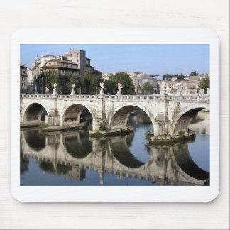 Puente de st Ángel, Roma, Italia de Castel Mouse Pads