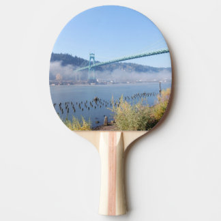 Puente de St Johns, Portland Oregon Pala De Ping Pong