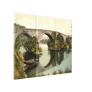 Puente de Stirling impresión de la lona de Stirli Lona Estirada Galerías