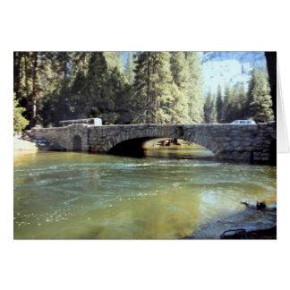 Puente de Stoneman, parque nacional de Yosemite Tarjeta De Felicitación
