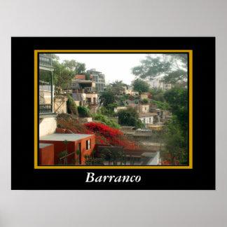 Puente de Suspiros in Barranco - Lima Poster