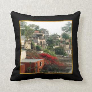 Puente de Suspiros in Barranco - Lima Throw Pillow