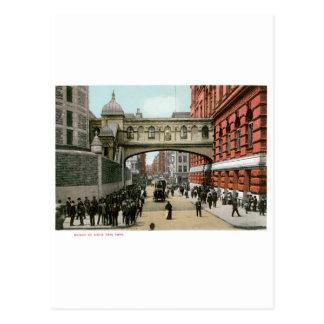 Puente de suspiros, Nueva York Tarjetas Postales