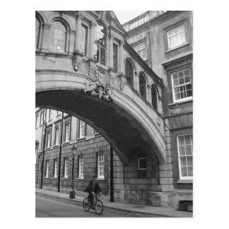 Puente de suspiros, Oxford Tarjeta Postal