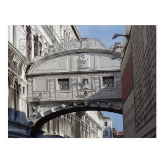 Puente de suspiros, Venecia 2 Tarjetas Postales