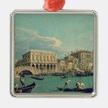 Puente de suspiros, Venecia c.1740 Ornamento Para Arbol De Navidad