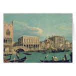 Puente de suspiros, Venecia c.1740 Felicitación