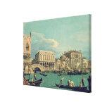 Puente de suspiros, Venecia c.1740 Impresiones De Lienzo
