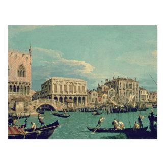 Puente de suspiros, Venecia c.1740 Postal