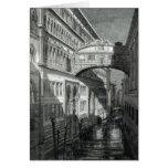 Puente de suspiros, Venecia Felicitaciones