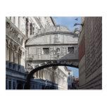 Puente de suspiros, Venecia Postal