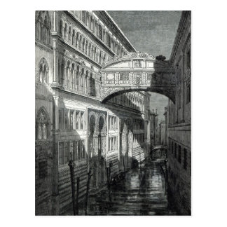 Puente de suspiros, Venecia Postales