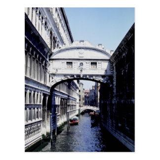 Puente de suspiros, Véneto, Venecia, Italia Postal