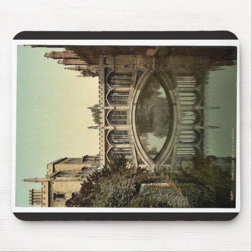 Puente de suspiros, vintage Photoc de Cambridge, I Alfombrillas De Ratones