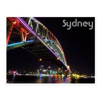 puente de Sydney vivo Tarjeta Postal