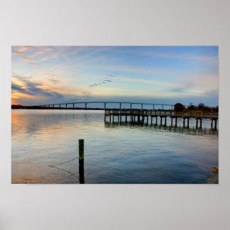 Puente de Thomas Johnson Solomons Maryland Impresiones