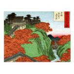 Puente de Tsuten, templo de Tofukuji en Kyoto Tarjeta Postal
